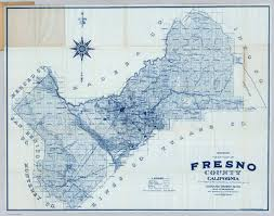 map of fresno fresno county california david rumsey historical map collection
