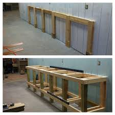 Garage Shop Designs A Stationery Work Bench 4 4 Pinterest 4x4 Construction And