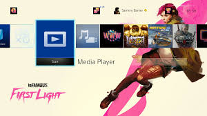 how to view photos play music and watch videos with ps4 media