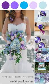 purple and blue wedding wedding color palette purple blue and white the palette