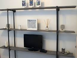 bookcase modern industrial bookcase industrial modern shelving