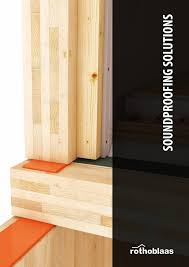 Laminate Flooring Soundproof Underlay Soundproofing Solutions En By Rothoblaas Issuu