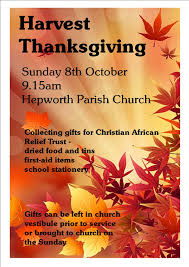 harvest thanksgiving at hepworth parish church holmfirth events