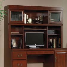 Sauder Computer Desk And Hutch Sauder Heritage Hill Outlet Collection Credenza Hutch 42 H X 59