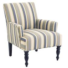 liliana surf blue striped armchair pier 1 imports