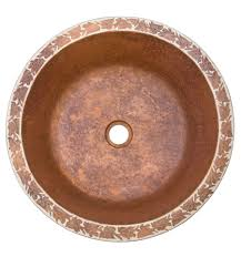 florence fired copper bath sink