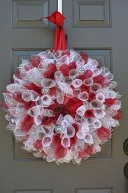 geo mesh christmas spiral deco mesh wreath on etsy 70 00 deline designs