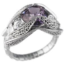 Amethyst Wedding Rings by Amethyst Engagement Rings Weddingbee