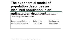 population change equation