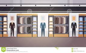 Garment Shop Interior Design Ideas Flat Design Of Cloth Shop Interior Stock Vector Image 56528075