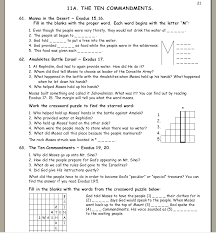 bible study worksheets for volume 1 adam and eve noah and the ark