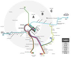 Dc Metro Rail Map by Rtd University Of Colorado A Line