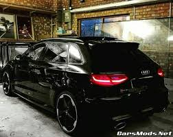 audi rs3 mods audi rs3 black modified cars mods