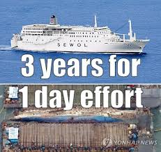 Cruise Ship Meme - after nearly 3 years sewol ferry lifted from sea in 1 day theseoulite