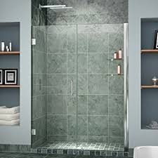 38 Shower Door Dreamline Unidoor 37 38 In Width Frameless Hinged Shower Door 3