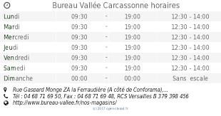 bureau vallee carcassonne bureau vallée carcassonne horaires rue gaspard monge za la