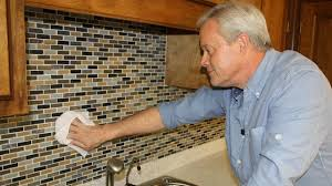 how to install a mosaic tile backsplash today u0027s homeowner
