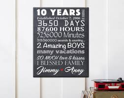 best 10 year anniversary gifts inspirational 10 year wedding anniversary gifts b87 on images
