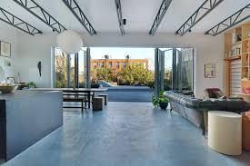 home design studio brooklyn a stylish brooklyn home in a former clothing factory wsj