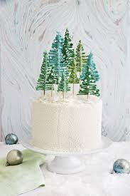 best pine tree cake recipe how to make tree cake