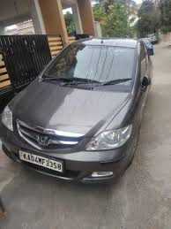 cube cars honda used honda city zx cvt petrol in bangalore 2007 model india at
