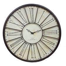 horloge murale engrenage grande horloge murale à l u0027ancienne de gare horloge pinterest