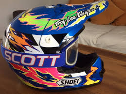 shoei helmets motocross wanted shoei vfx jeff emig replica visor for sale bazaar
