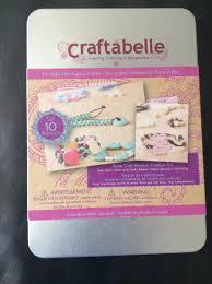 find more bnib craftabelle earth craft bracelets making kit for