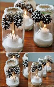Easy To Make Christmas Decorations At Home Best 25 Christmas Table Decorations Ideas Only On Pinterest