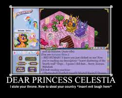 Princess Celestia Meme - dear princess celestia by akirahazami on deviantart