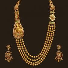 long gold necklace sets images Necklace set gold kundan long necklace set vummidi jpg