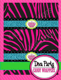glamour animal print candy wrappers animal print u2013 krown