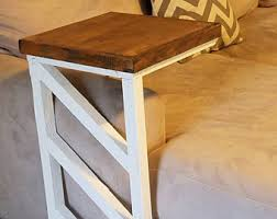 sofa c table sofa tray table etsy