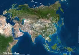 satellite map hd asia map