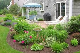 Pictures Of Patio Gardens How To Landscape Around Concrete Patio Google Search Gardening