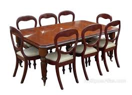 Mahogany Dining Room Table And 8 Chairs Mahogany Dining Table 8 Chairs Antiques Atlas