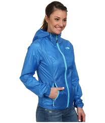 the north face cyclone hoodie in blue lyst