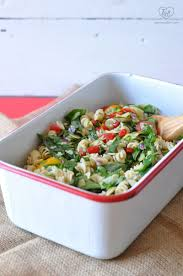 spinach artichoke pasta salad thyme u0026 love