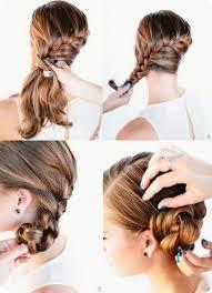 Einfache Hochsteckfrisurenen F Mittellange Haare by Einfache Hochsteckfrisuren Zum Selber Machen Fã R Lange Haare