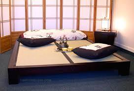Tatami Platform Bed Frame Raku Japanese Tatami Bed Haiku Designs