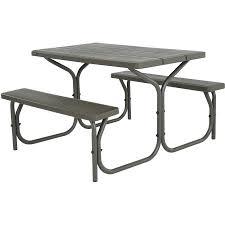 Lifetime Outdoor Furniture Lifetime 4 U0027 Picnic Table Walmart Com