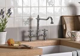 B And Q Kitchen Sink Kitchen Taps Pillar Mixer Taps Diy At B Q