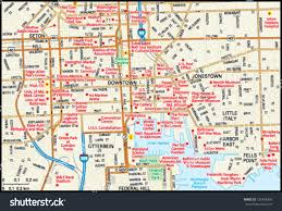 me a map of maryland baltimore maryland downtown map stock vector 139439366