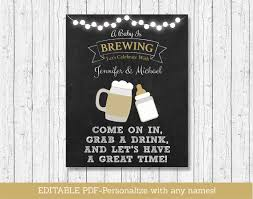 a baby is brewing baby is brewing baby shower welcome sign chalkboard sign baby