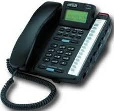 visual phone ringer light cortelco 222000 tp2 27e model itt 2220bk colleague 2 line phone