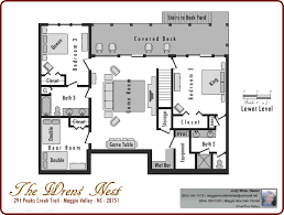 Level Floor Floor Plans Maggie Valley Luxury