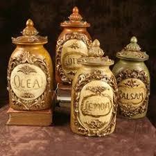fleur de lis canisters 4 piece set from home at five fleur de