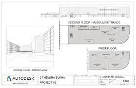 floor plan museum davendra sukha