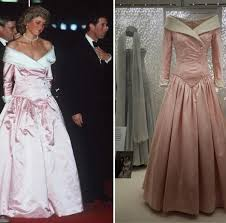 look at the diana fashion story exhibit