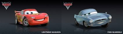 fin mcmissile cars 2 s lightning mcqueen and finn mcmissile race in real